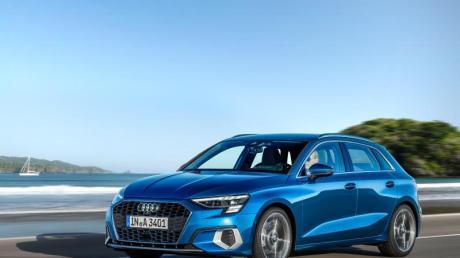 Die vierte Generation des Audi A3 zeigt sich mit neuer Form.