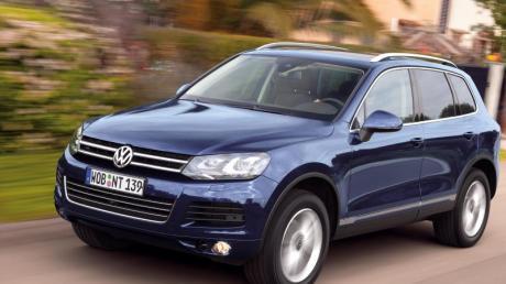 Chef im VW-Stall: Der VW Touareg gilt als das Topmodell im Portfolio der Wolfsburger.
