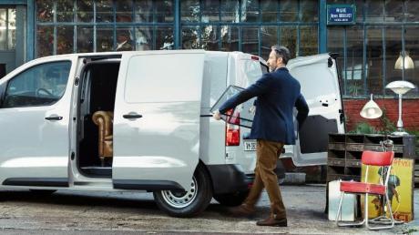 Den Jumpy bietet Citroën in der zweiten Jahreshälfte auch als E-Auto an.
