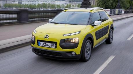 Charaktervoller Cactus: Der Citroën C4 Cactus rollt in erster Auflage mit großflächigen «Airbumps» an den Flanken vor.