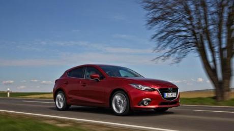 Kompakte Klasse: Im typischen Golf-Segment haben Gebrauchtkäufer viele Alternativen zum Wolfsburger - wie etwa den Mazda3.