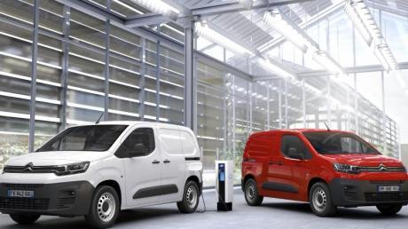 In die Kastenwagenversion vom Berlingo baut Citroën künftig auch einen vollelektrischen Antrieb ein.