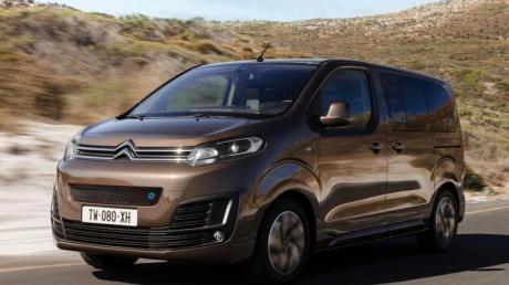 Elektrische Raum-Fahrt: Viel Platz will Citroën auch in der rein elektrischen Version des Spacetourers bieten.