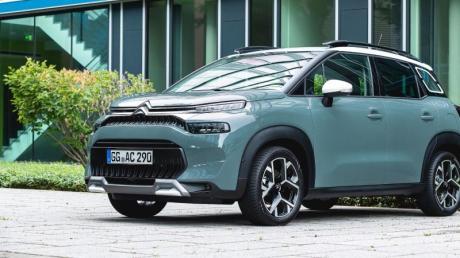 Neuer Look: Optisch lässt sich das Facelift beim Citroën C3 Aircross besonders an der überarbeiteten Frontpartie erkennen.