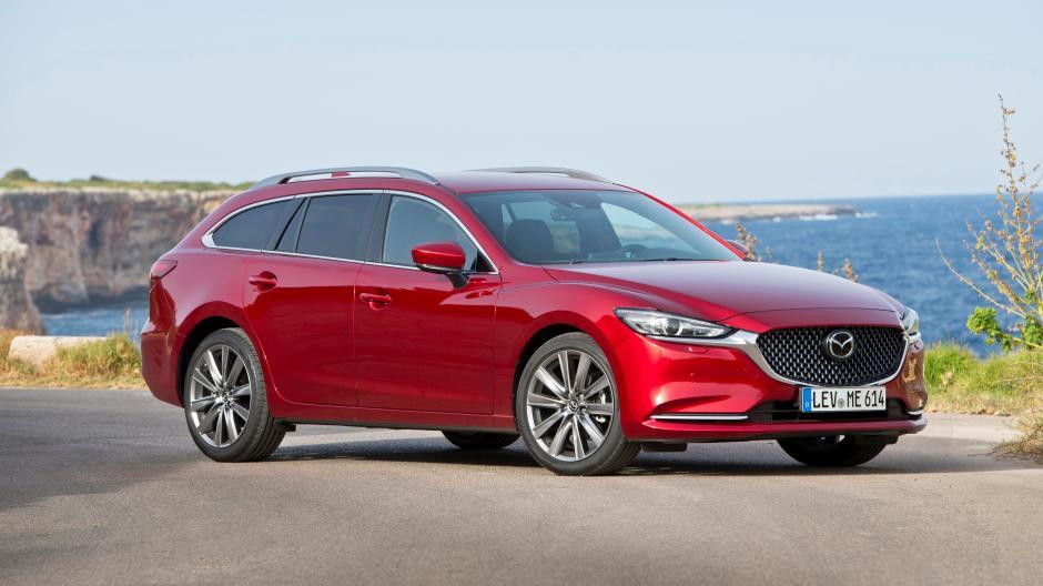 Neuvorstellung  Es muss nicht immer ein SUV sein  Mazda6 Facelift im ... 7de10f70ce