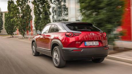Ist eigenwillig und sieht auch so aus: Mazdas erstes Elektroauto, der MX-30.
