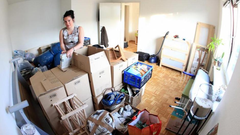 Viel Platz Haben Die Wenigsten Studenten In Ihrer Ersten Wohnung Oder Im  WG Zimmer: