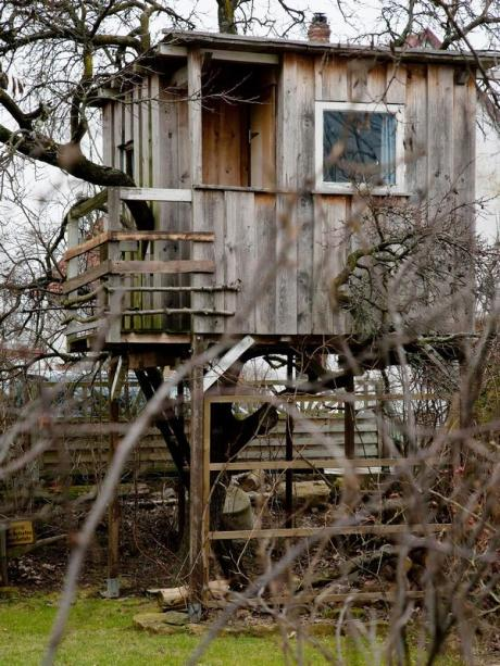 Bau Ruckzugsort In Der Hohe So Gelingt Das Baumhaus Bauen