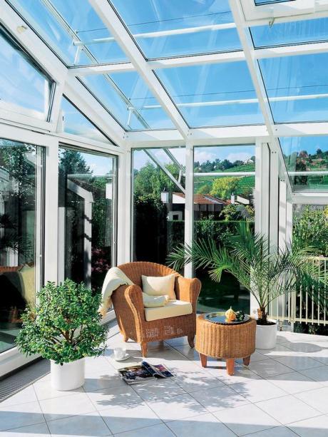 Beliebt Bau: Mit Balkon, Terrasse oder Wintergarten die Natur ins Haus YN85