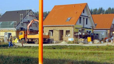 Der Traum vom Eigenheim: Im Rieder Gemeinderat ist über die Entwicklung des Ortes diskutiert worden.