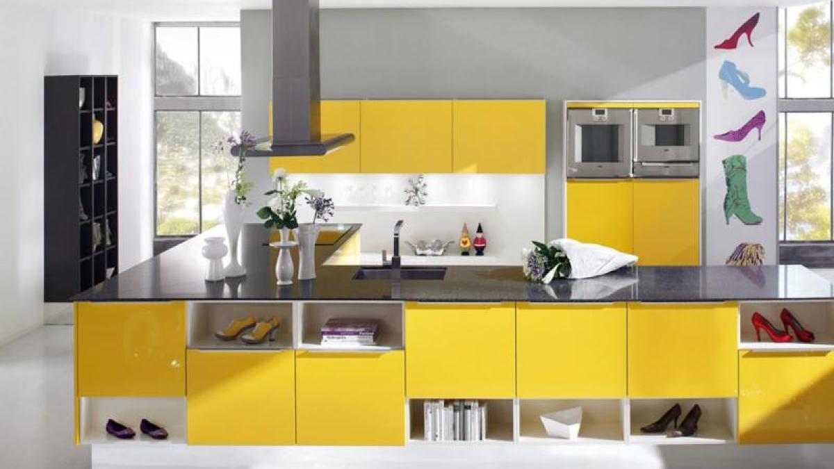 Immobilien: Sonnenschein im Haus: Jetzt wird die Einrichtung gelb ...