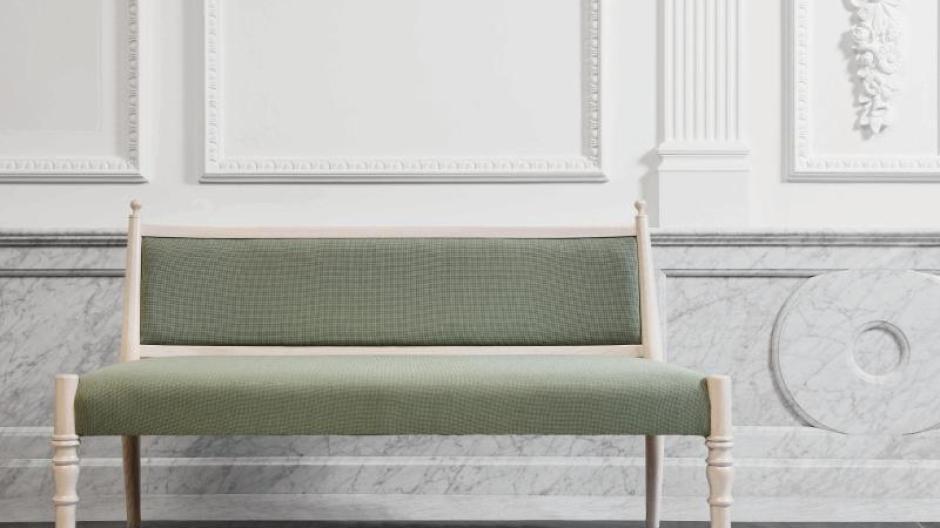Eher Schon Wie Eine Bank Statt Wie Ein Sofa Mutet Dieses Modell An. Foto: