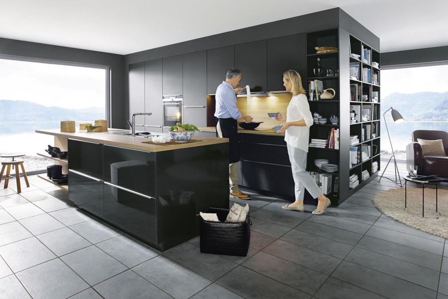 Küche verschmilzt immer mehr mit wohnbereich bauen wohnen themenwelten ratgeber augsburger allgemeine