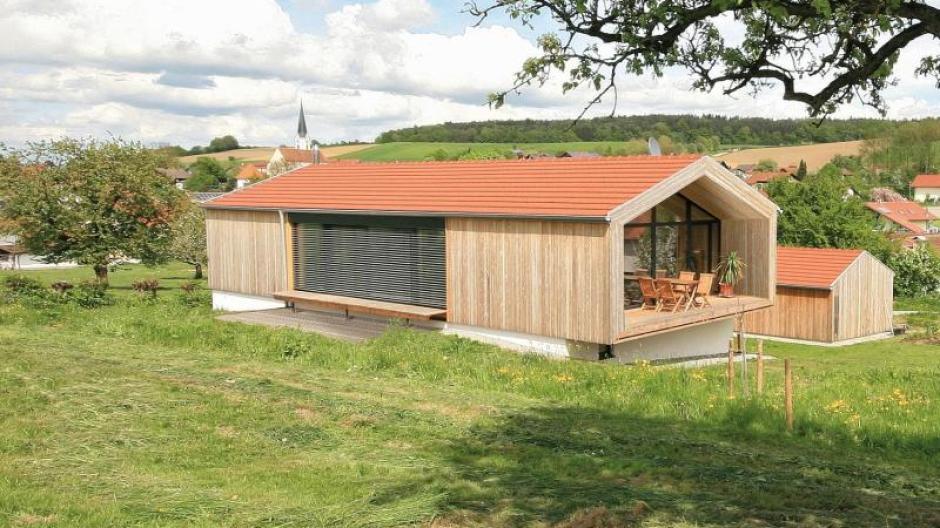 Modern Gestaltet Und Doch Sind Die Anleihen Vergangener Bautraditionen  Nicht Zu übersehen: Das Wohnhaus Mit