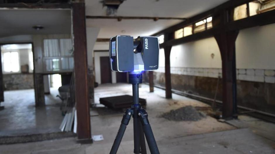 Laser Entfernungsmesser Software : Wenn der bauplan verschwindet aufmaß oder laserscans vom haus