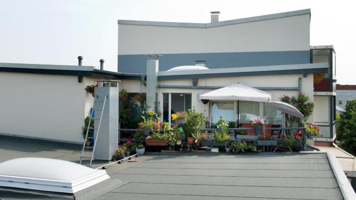 Bevorzugt BGH-Urteil: Eigentümer müssen Dachterrasse mitunter alleine NT92