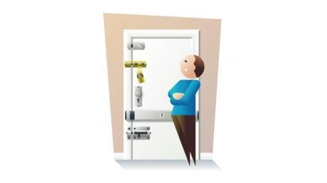 Einbruchschutz für die Haus- und Wohnungstür lässt sich nachrüsten.