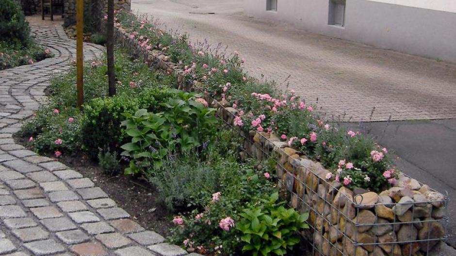 Freizeit Schallschutz Oder Sichtwand Gabionen Erobern Gärten
