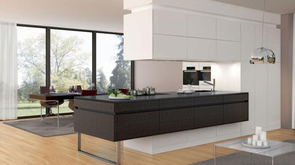 Wohnen: «Schwebende Unterschränke» in der Küche im Trend - Bauen ...