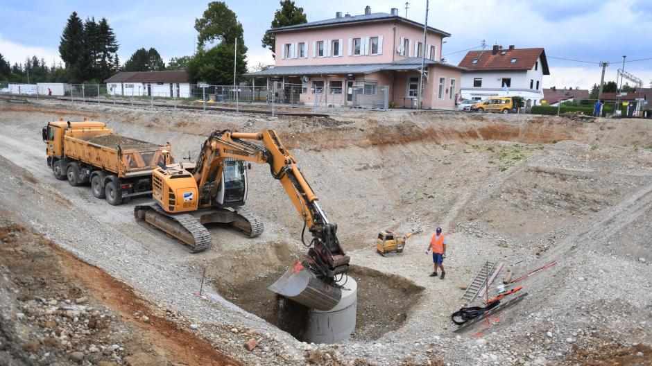 Bahn München Lindau Das Ist Bayerns Längste Baustelle