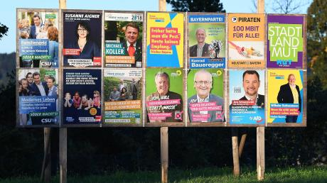 Die Auswahl bei der Landtagswahl in Bayern ist groß. Erstmals muss die CSU um mehrere Direktmandate bangen.
