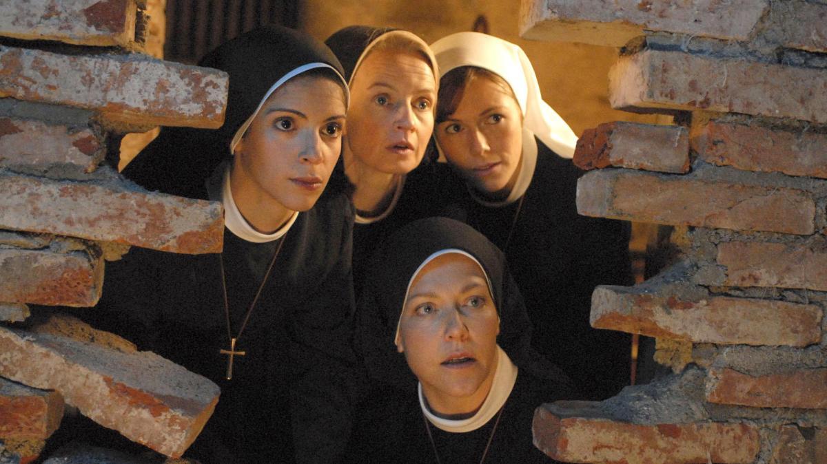 Strippende Nonne