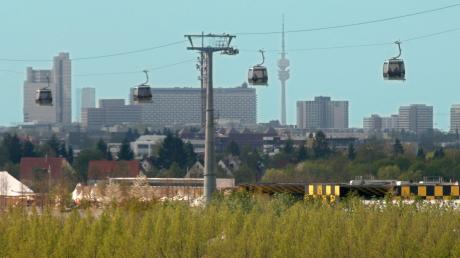 Im Jahr 2005 gab es schon einmal eine Seilbahn in München. Während der Bundesgartenschau konnten die Gäste über das Gelände in Riem gondeln.