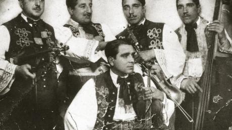 Eine der wenigen Aufnahmen, die es von der Musikerfamilie Eckstein noch gibt.