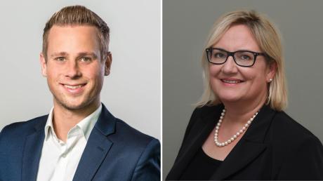 Yannick Dillinger und Andrea Kümpfbeck verstärken die Chefredaktion der Augsburger Allgemeine.