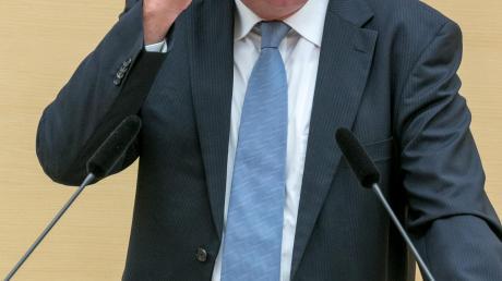 Thomas Kreuzer gibt für die CSU im Landtag den Ton an.