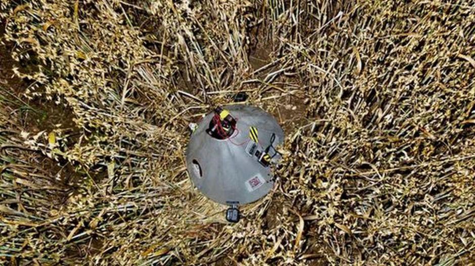 Kreis München Ufo Alarm Polizei Findet Mysteriöse Kapsel