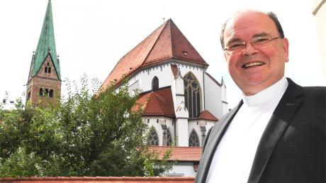 """""""Unsere Diözese ist so groß, dass es keine Monokultur geben muss"""": Prälat Bertram Meier ist derzeit Augsburger Diözesanadministrator."""