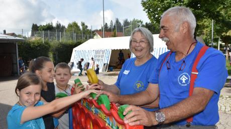 Seit über drei Jahrzehnten sind Marie-Luise und ihr Ehemann Franz Bischoffberger für Kinder und Familien in Lindenberg da. Auf Basis einer Hausaufgabenbetreuung bauten sie ein umfangreiches Angebot auf.