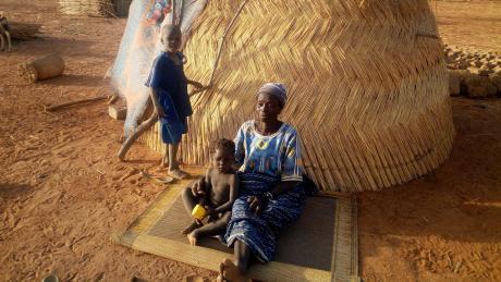Burkina Faso zählt zu den ärmsten Ländern der Welt. Viele Menschen haben nicht genug zu essen.