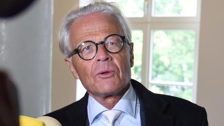 Der Augsburger Rechtsanwalt Walter Rubach hat schon die schlimmsten Verbrecher verteidigt.