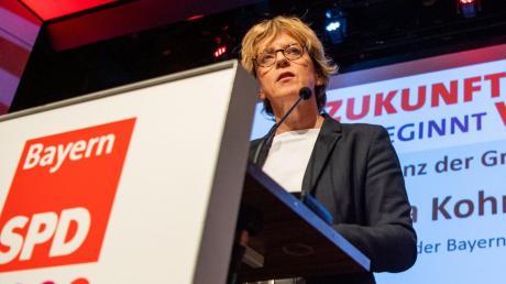 """SPD-Landeschefin Natascha Kohnen legt sich nur in einem Punkt fest: """"Die Große Koalition ist keine Option für künftige Koalitionen."""""""