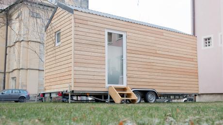 Im Tiny House zu Wohnen wird immer beliebter. Ein neues winziges Haus soll nun in Oberroth entstehen.