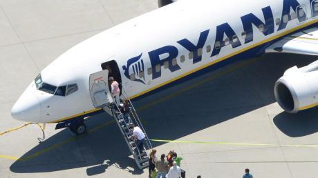 Ryanair streicht viele Verbindungen von und nach Nürnberg.