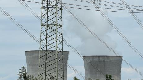 Das Atomkraftwerk in Gundremmingen. Block C muss vorübergehend vom Netz.