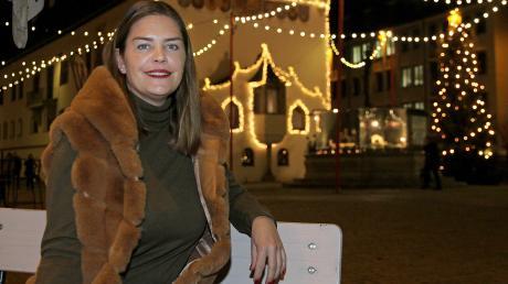 Nina Döbler-Menegatto auf Heimatbesuch in Kempten.