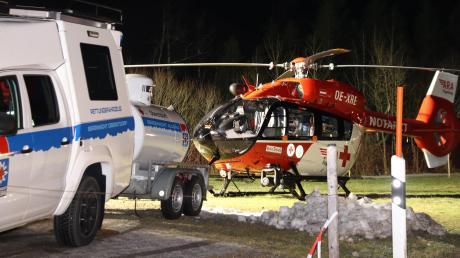 Ein Lawinenabgang bei Bad Hindelang hat am Sonntagabend zu einem Großeinsatz von Rettungskräften geführt.