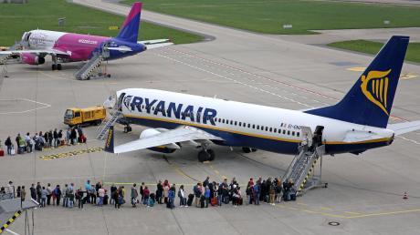 Der Flughafen Memmingen zählt Ryanair zu seine erfolgreichsten Kunden.