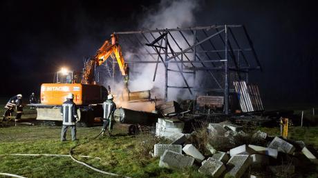Zwölf Feuer sollen die beiden festgenommenen Männer im Landkreis Landsberg gelegt haben.