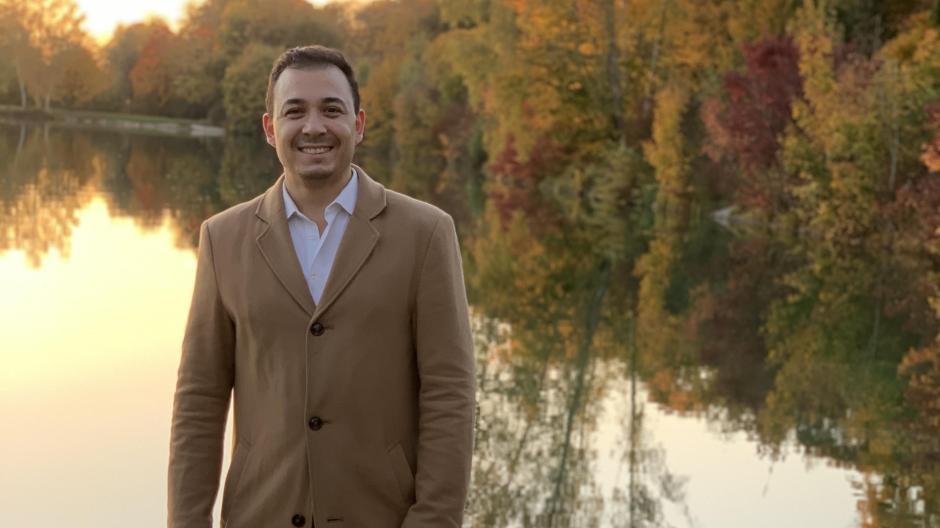 Serdar Duran – 32, Sohn türkischer Eltern, in München geboren und aufgewachsen und Muslim – kandidiert für die CSU für den Münchner Stadtrat.