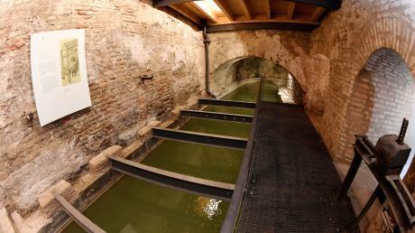 Das historische Wassermanagement-System, zu dem auch die Wassertürme am Roten Tor mit ihrem Gewölbe gehören, brachte Augsburg den Welterbe-Titel.
