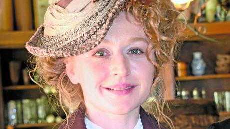 """Brigitte Hobmeier spielt in der neuen Serie """"Oktoberfest 1900"""" eine der Hauptrollen. Die Ausstrahlung ist für den Herbst geplant."""