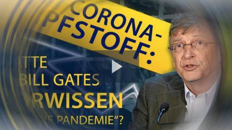Videos wie dieses über eine vermeintliche Verstrickung von Bill Gates in die Corona-Pandemie werden im Netz hunderttausendfach abgerufen.
