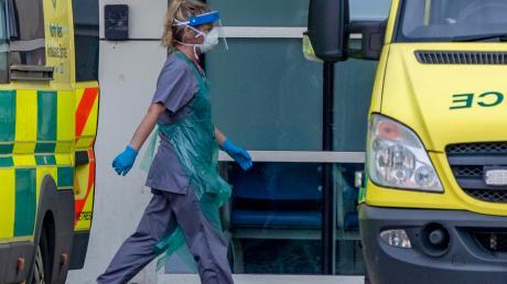 Überlastetes Klinikpersonal – ein Dauerzustand in Großbritannien.