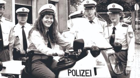Corinna Joachim gehörte zu den ersten Frauen, die in Bayern den uniformierten Dienst antraten.