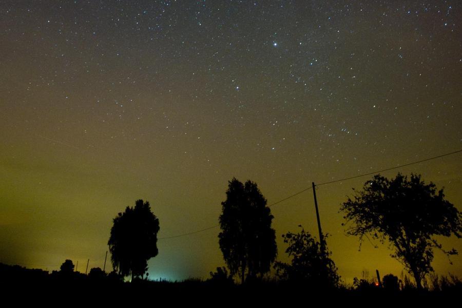 Satelliten Kette Am Himmel Heute Bayern